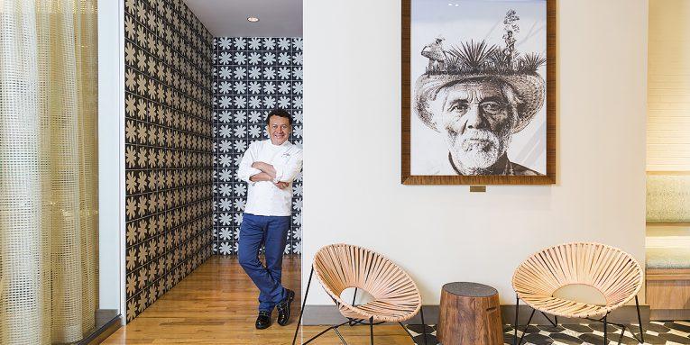 Chef Hugo Ortega at Xochi