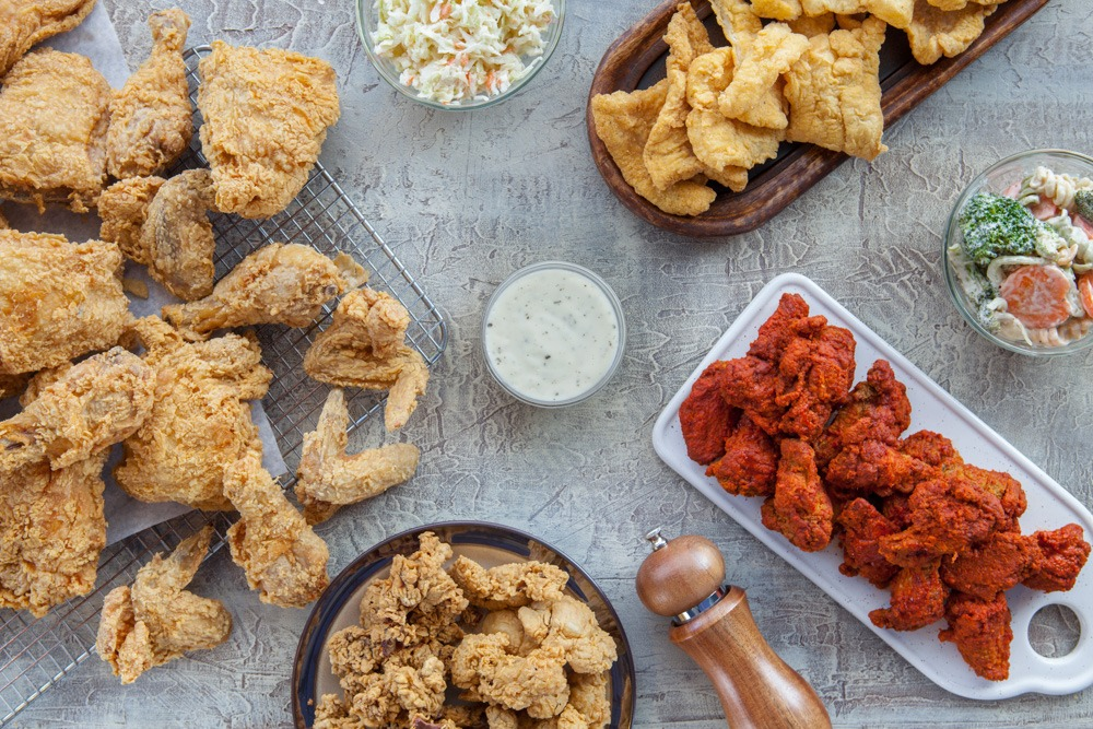 Food Photography For Hartz Chicken Houston Food Photo