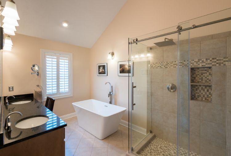 professionally seal travertine shower tile
