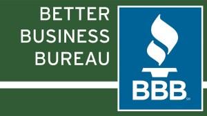 logo for Better Business Bureau column