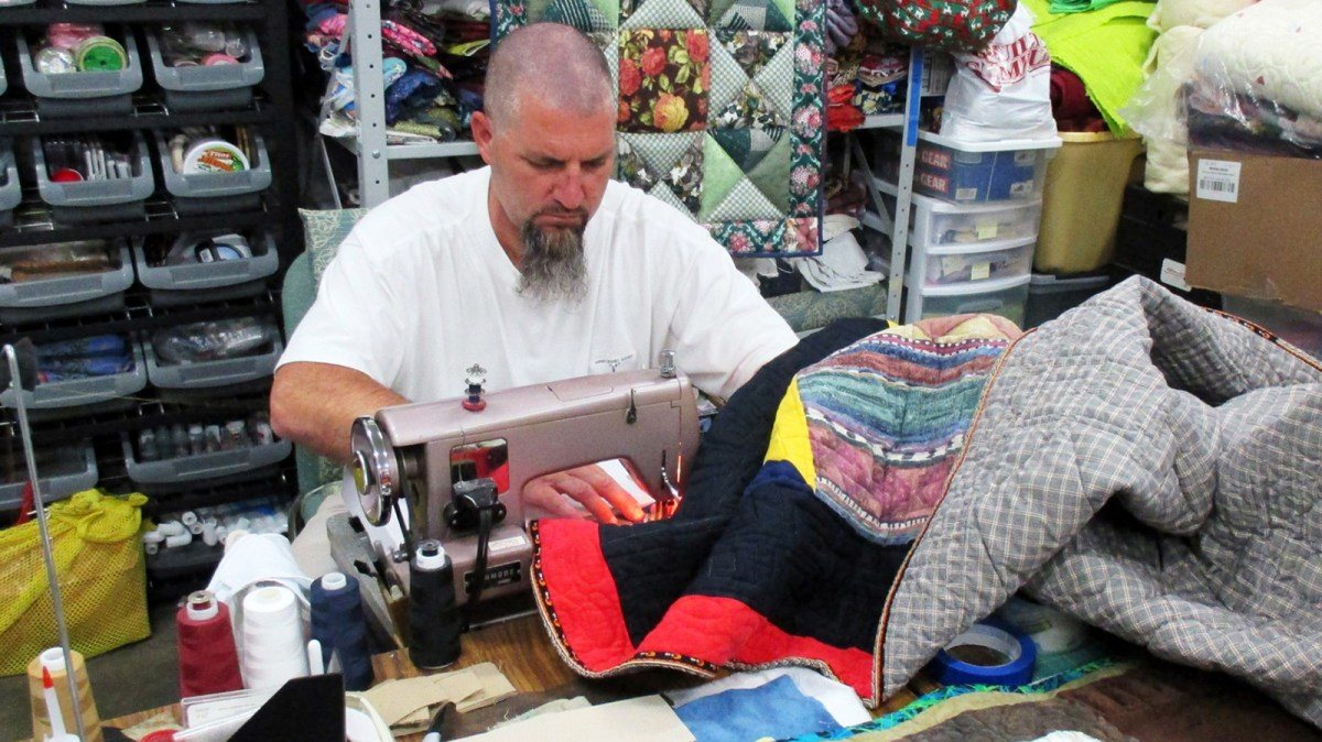 Offender quilting