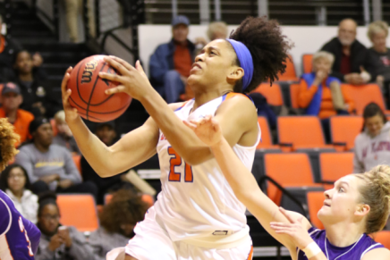 Women's Basketball Puts Down Lady Demons 66-55