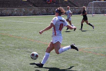 Bearkat Soccer Grabs First Win, Prepares for Long Road Trip