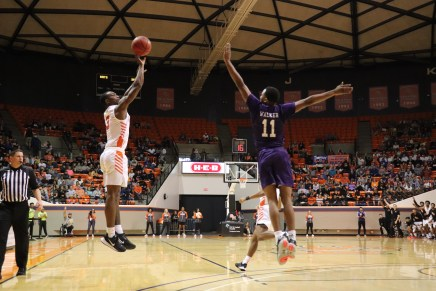 Late Turnovers Cost Kats Critical Game Against SFA