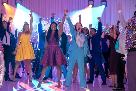 'The Prom' Review: Fierce, But in a Glittery Way