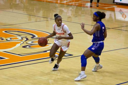 Bearkats Cruise to Victory over Houston Baptist University