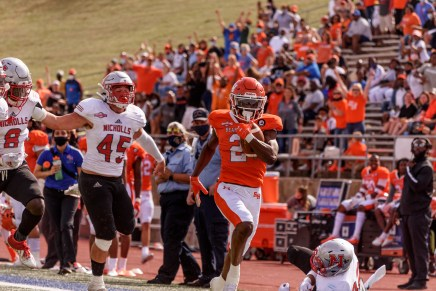 Bearkats upset No. 7 Nicholls in statement victory