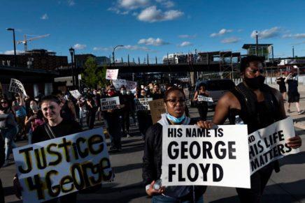 Before justice: His name is George Floyd