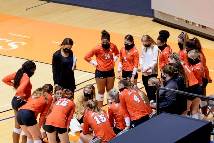 Volleyball season ends in championship game loss