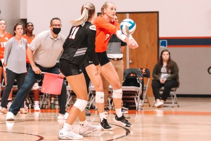 Volleyball defeats SFA for first time since 2016