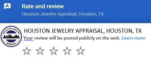 Leave A Review For Houston Jewelry Appraisal