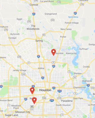 Coverage Map for HoustonJewelryAppraisal.com