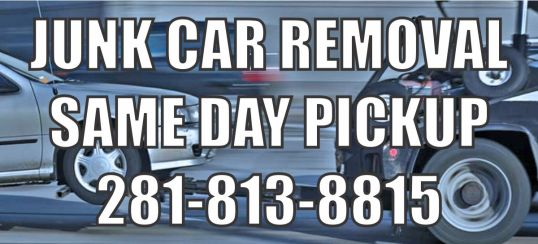 junk car removal houston