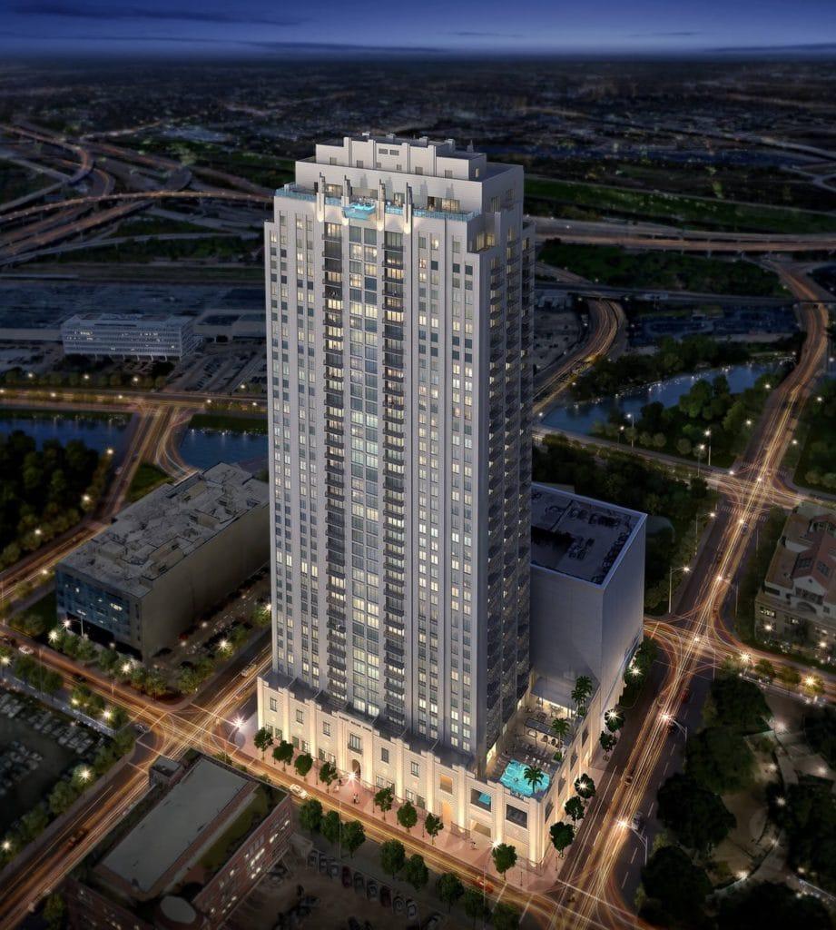 Market Square Penthouse South  Houston Luxury Apartments