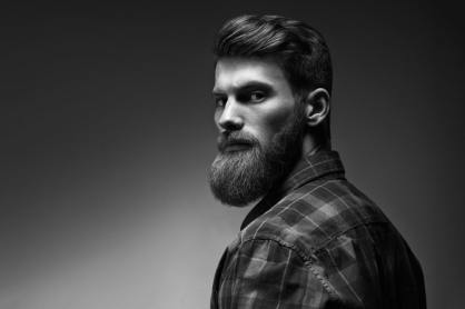 younger man with beard