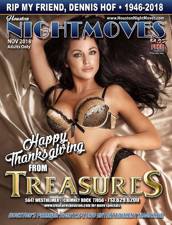 Check out the November 2018 issue of Houston Nightmoves