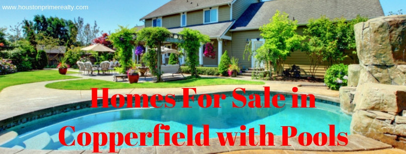 houston real estate investing can be extremely lucrative, especially when you're making an investment in reo properties such as bank owned homes, short sales, va foreclosures, hud homes or government foreclosure houses in houston, tx. Homes For Sale With Pools In Copperfield Houston Texas 77095
