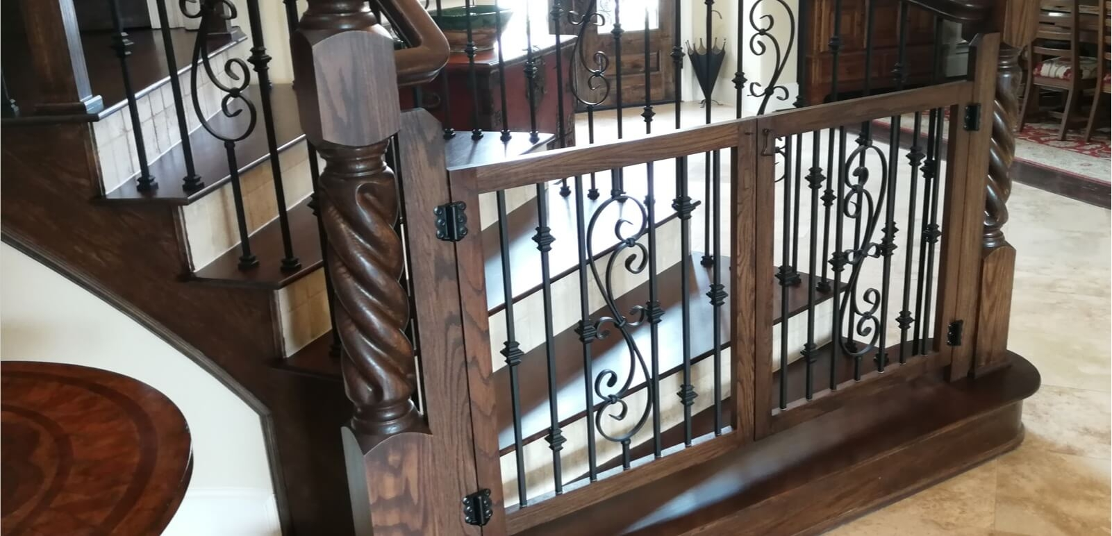 Houston Stair Parts Stair Remodel Iron Balusters Railing   Handrail Companies Near Me   Metal   Glass Handrail   Staircase   Deck Railing   Stair Treads