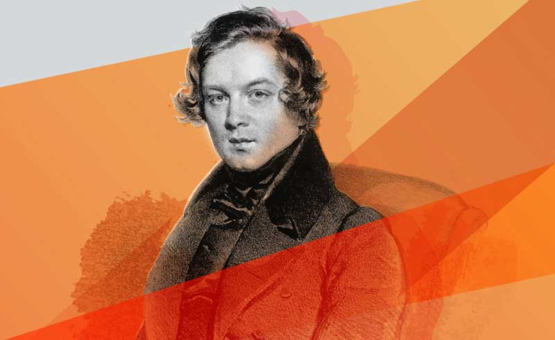 Houston Symphony Schumann festival art.