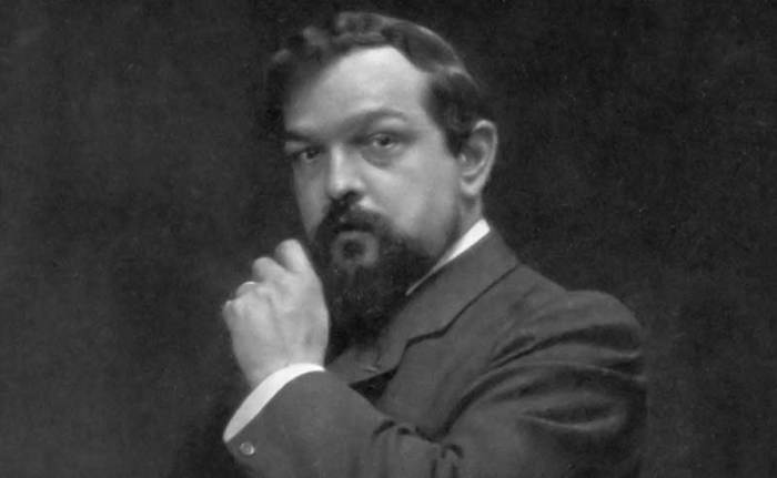 French composer Claude Debussy in 1900.
