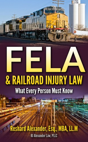 rjalexanderlaw Railroad Injury lawyer book