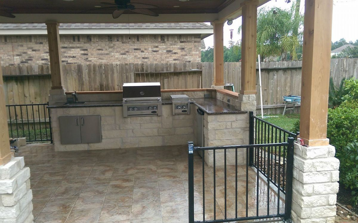 Outdoor Kitchen Designs  Houstons Best Outdoor Kitchens