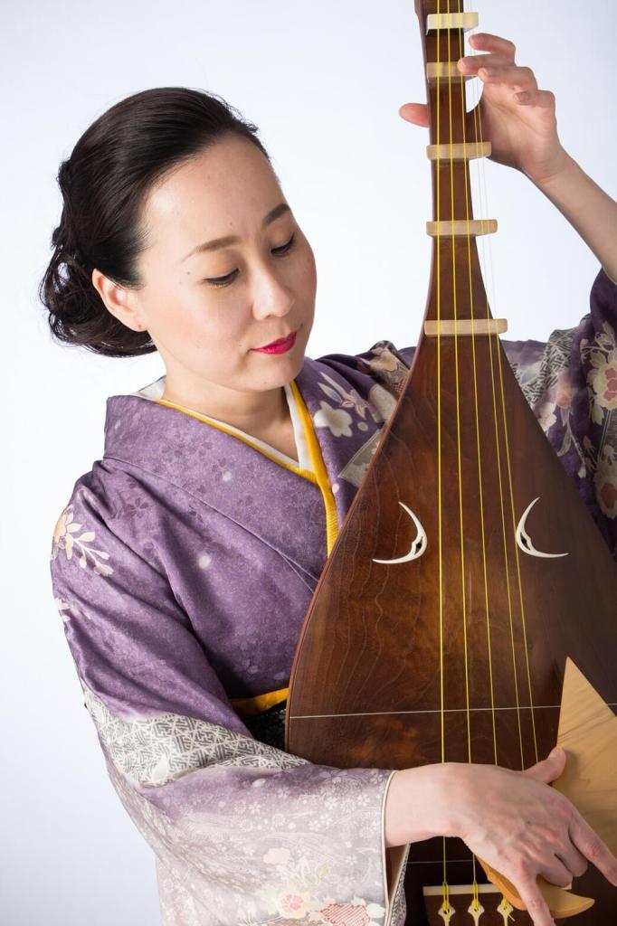 久保田晶子(琵琶)