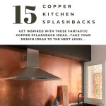 15 Copper Kitchen Backsplash Ideas That Make A Splash In 2020