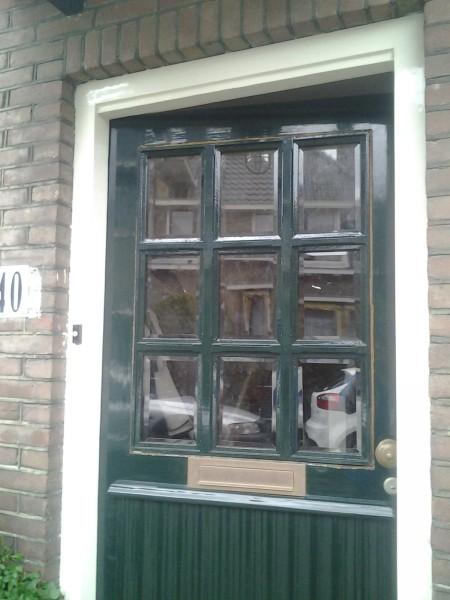 Jaren-'30 voordeur wassenaar