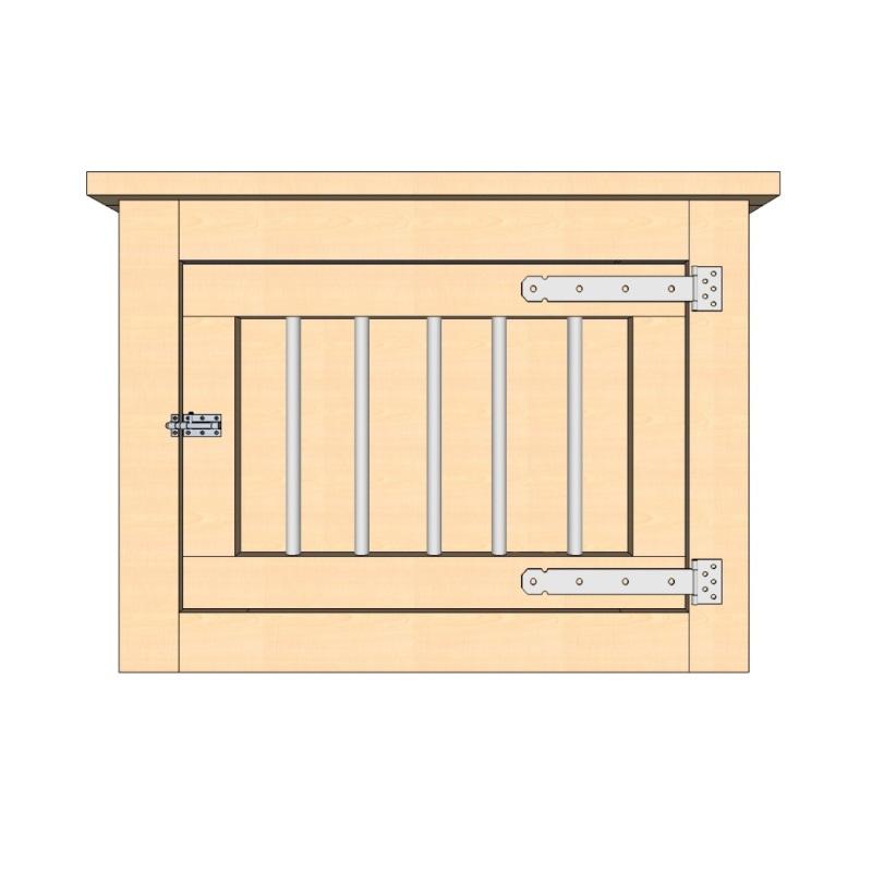 bench 100 cm 1 deur