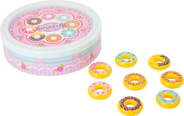 Houten speelgoed donuts