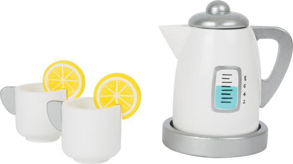 Houten waterkoker speelgoed