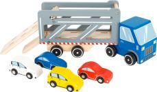 Houten vrachtwagen speelgoed