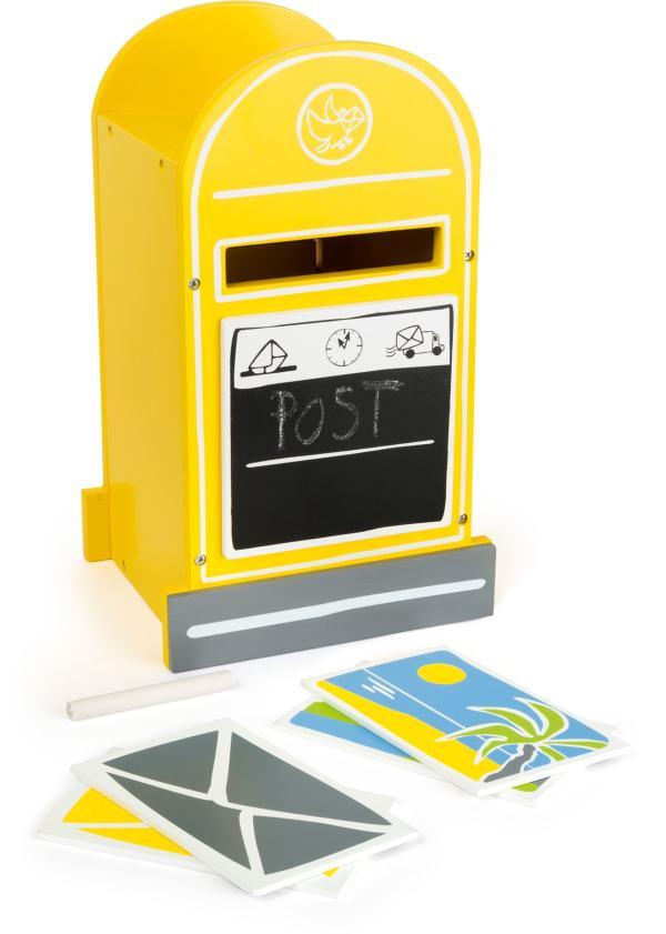 Houten speelgoed brievenbus