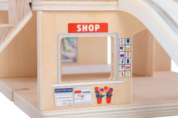 Treinspoor houten speelgoed