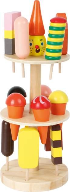 Houten speelgoed ijsjes