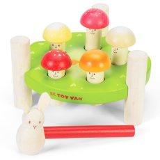 Meneertje paddenstoel: houten spelletje