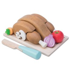 Houten speelgoed kip keuken