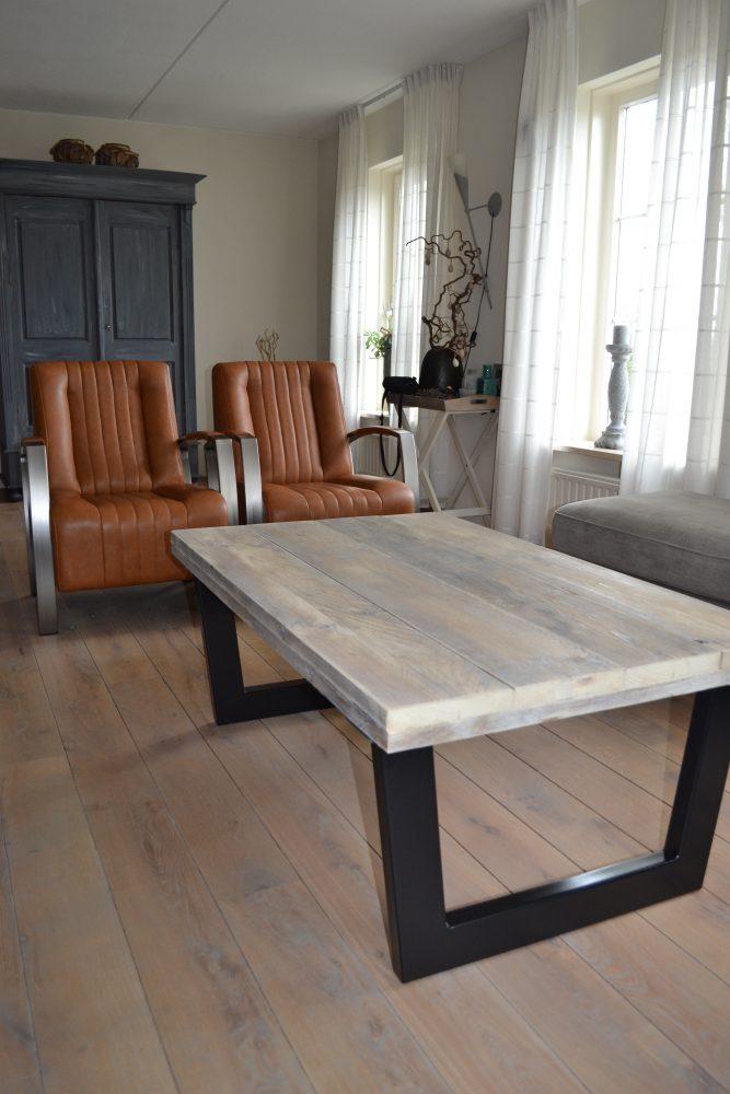 Hout het Stijlvol  Salontafel Upoot steigerhout