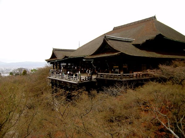 Templo Kiyomizu en Kioto