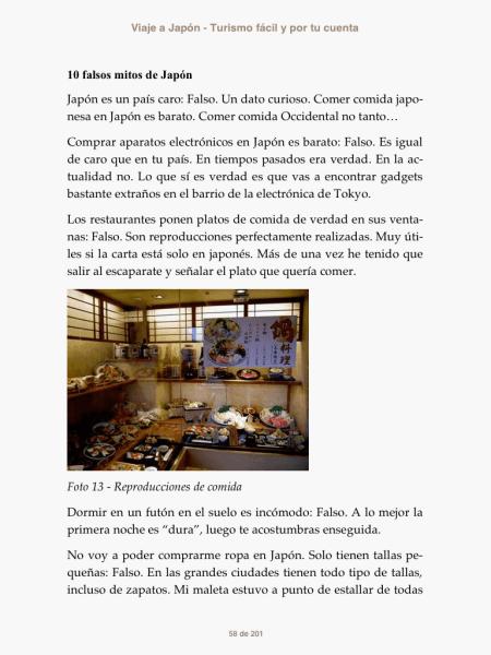 Viaje a Japón previsualización libro 4
