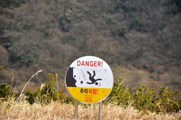 Crater en Jeju