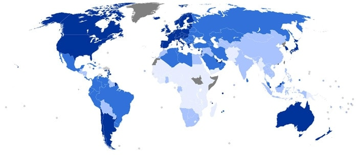 Mapa desarrollo humano 2013