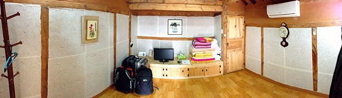 habitacion Hanok en Gyeongju Corea del Sur