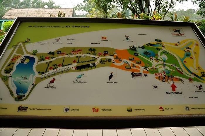 Parque de pajaros en KK