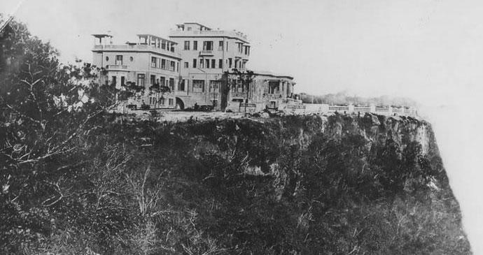 bokor palace hotel and casino, hotel de la época colonial