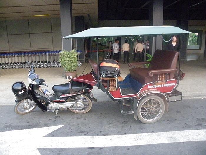Tuk Tuk en Siem Reap Camboya