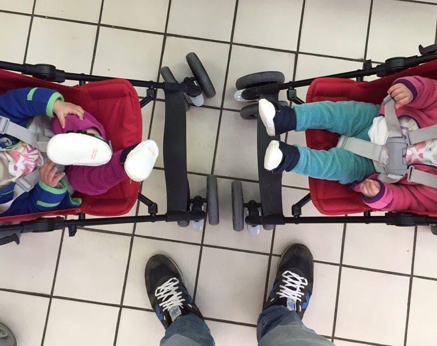viajando con niños y bebés