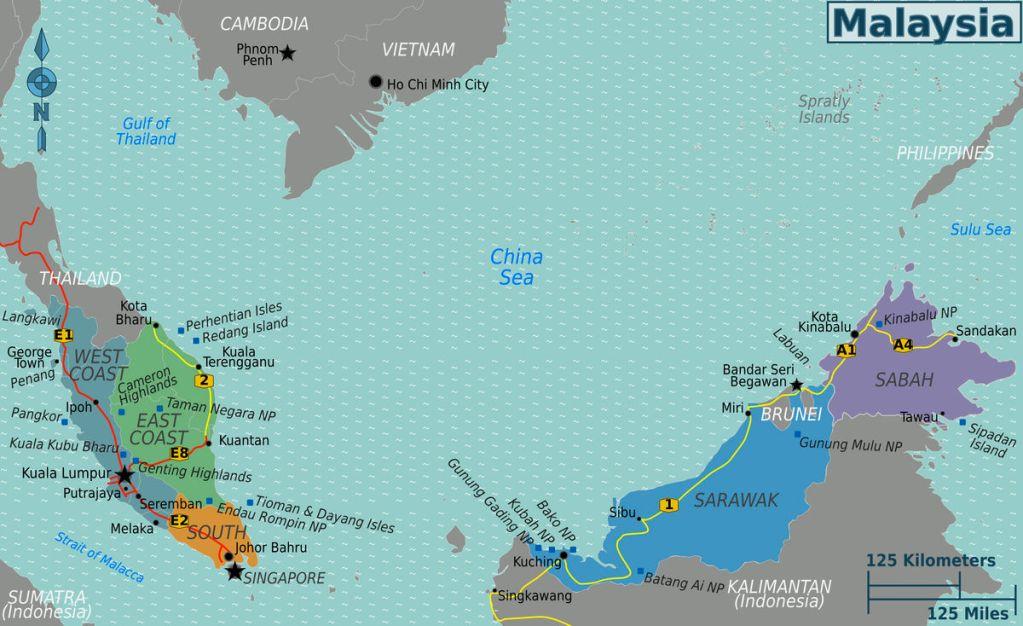 Principales ciudades de Malasia: destinos turísticos, playas y mucho más