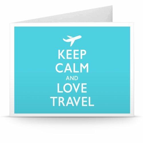 tarjeta regalo amazon: Keep Calm and Love Travel